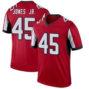 Men's Nike Atlanta Falcons Deion Jones Red Jersey - Legend