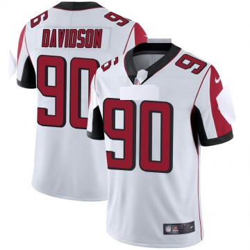 Men's Nike Atlanta Falcons Marlon Davidson White Vapor Untouchable Jersey - Limited