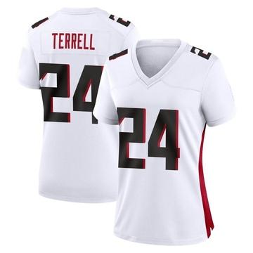 Women's Nike Atlanta Falcons A.J. Terrell White Jersey - Game