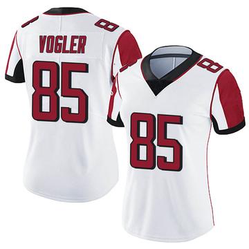 Women's Nike Atlanta Falcons Brian Vogler White Vapor Untouchable Jersey - Limited
