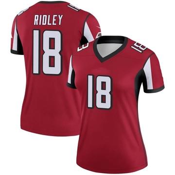 Women's Nike Atlanta Falcons Calvin Ridley Red Jersey - Legend