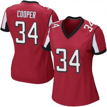 Women's Nike Atlanta Falcons Chris Cooper Red Team Color Jersey - Game