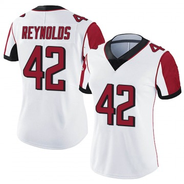 Women's Nike Atlanta Falcons Craig Reynolds White Vapor Untouchable Jersey - Limited