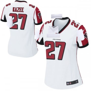 Women's Nike Atlanta Falcons Damontae Kazee White Jersey - Game