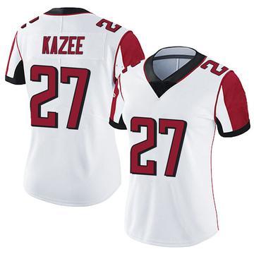 Women's Nike Atlanta Falcons Damontae Kazee White Vapor Untouchable Jersey - Limited