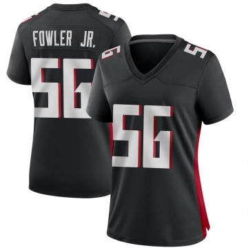 Women's Nike Atlanta Falcons Dante Fowler Jr. Black Alternate Jersey - Game