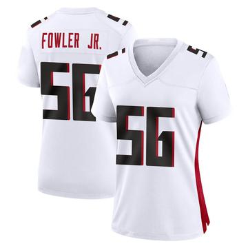 Women's Nike Atlanta Falcons Dante Fowler Jr. White Jersey - Game