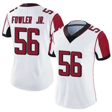 Women's Nike Atlanta Falcons Dante Fowler Jr. White Vapor Untouchable Jersey - Limited