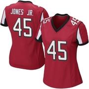 Women's Nike Atlanta Falcons Deion Jones Red Team Color Jersey - Game
