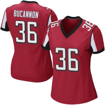Women's Nike Atlanta Falcons Deone Bucannon Red Team Color Jersey - Game