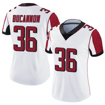 Women's Nike Atlanta Falcons Deone Bucannon White Vapor Untouchable Jersey - Limited