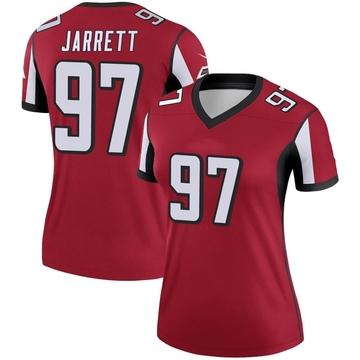 Women's Nike Atlanta Falcons Grady Jarrett Red Jersey - Legend