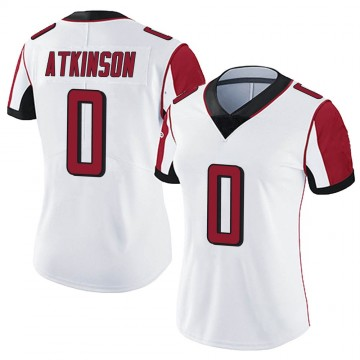 Women's Nike Atlanta Falcons Hunter Atkinson White Vapor Untouchable Jersey - Limited