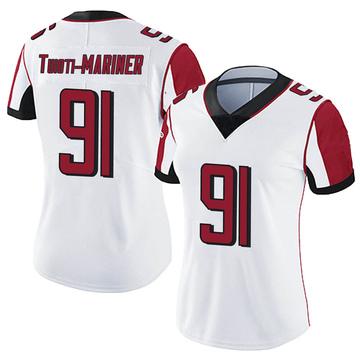 Women's Nike Atlanta Falcons Jacob Tuioti-Mariner White Vapor Untouchable Jersey - Limited