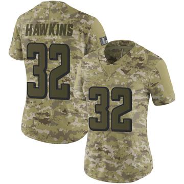Women's Nike Atlanta Falcons Jaylinn Hawkins Camo 2018 Salute to Service Jersey - Limited