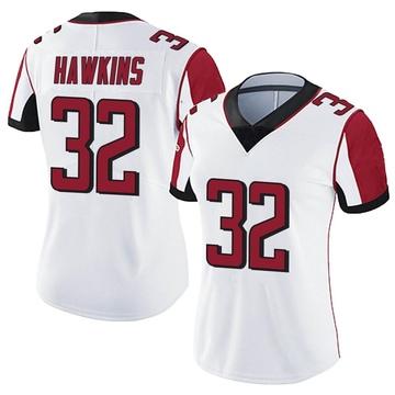 Women's Nike Atlanta Falcons Jaylinn Hawkins White Vapor Untouchable Jersey - Limited