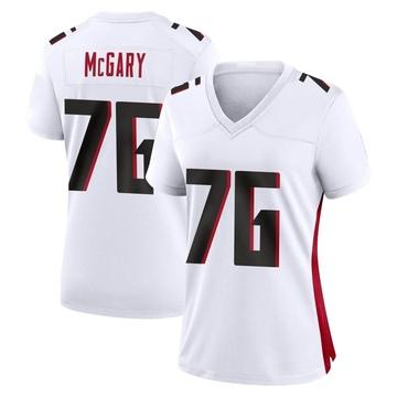 Women's Nike Atlanta Falcons Kaleb McGary White Jersey - Game