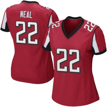 Women's Nike Atlanta Falcons Keanu Neal Red Team Color Jersey - Game