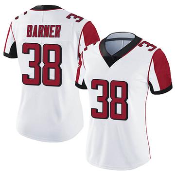 Women's Nike Atlanta Falcons Kenjon Barner White Vapor Untouchable Jersey - Limited