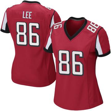 Women's Nike Atlanta Falcons Khari Lee Red Team Color Jersey - Game