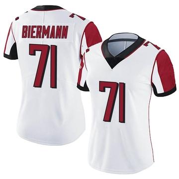 Women's Nike Atlanta Falcons Kroy Biermann White Vapor Untouchable Jersey - Limited