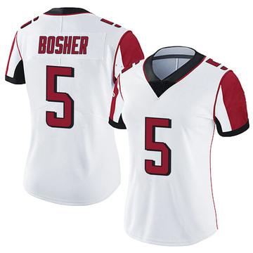 Women's Nike Atlanta Falcons Matt Bosher White Vapor Untouchable Jersey - Limited