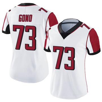 Women's Nike Atlanta Falcons Matt Gono White Vapor Untouchable Jersey - Limited