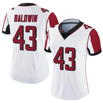 Women's Nike Atlanta Falcons Parker Baldwin White Vapor Untouchable Jersey - Limited