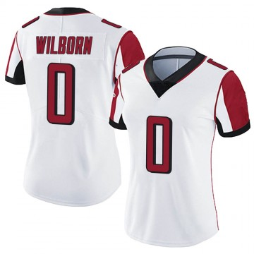 Women's Nike Atlanta Falcons Ray Wilborn White Vapor Untouchable Jersey - Limited