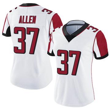 Women's Nike Atlanta Falcons Ricardo Allen White Vapor Untouchable Jersey - Limited