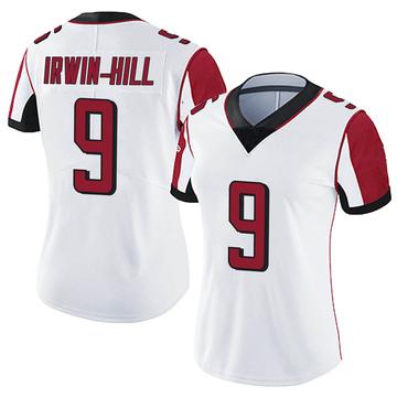 Women's Nike Atlanta Falcons Sam Irwin-Hill White Vapor Untouchable Jersey - Limited