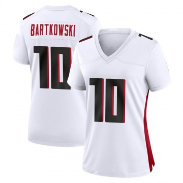 Women's Nike Atlanta Falcons Steve Bartkowski White Jersey - Game