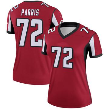 Women's Nike Atlanta Falcons Timon Parris Red Jersey - Legend