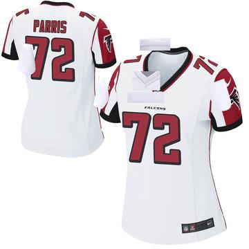 Women's Nike Atlanta Falcons Timon Parris White Jersey - Game