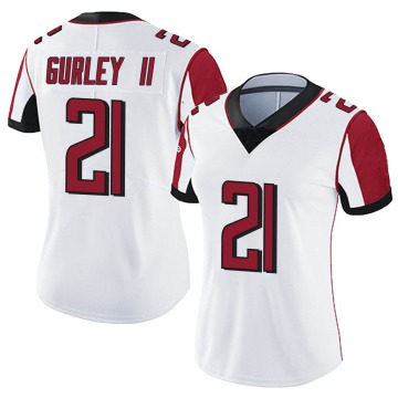 Women's Nike Atlanta Falcons Todd Gurley White Vapor Untouchable Jersey - Limited