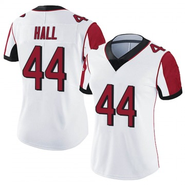 Women's Nike Atlanta Falcons Tyler Hall White Vapor Untouchable Jersey - Limited