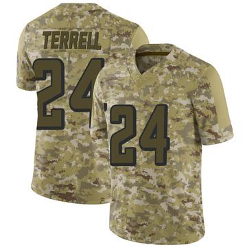 Youth Nike Atlanta Falcons A.J. Terrell Camo 2018 Salute to Service Jersey - Limited