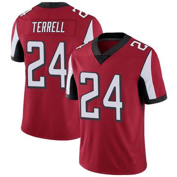 Youth Nike Atlanta Falcons A.J. Terrell Red 100th Vapor Jersey - Limited