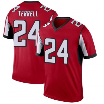 Youth Nike Atlanta Falcons A.J. Terrell Red Jersey - Legend