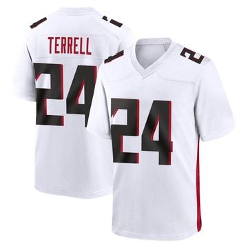 Youth Nike Atlanta Falcons A.J. Terrell White Jersey - Game