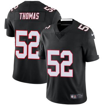 Youth Nike Atlanta Falcons Ahmad Thomas Black Vapor Untouchable Jersey - Limited
