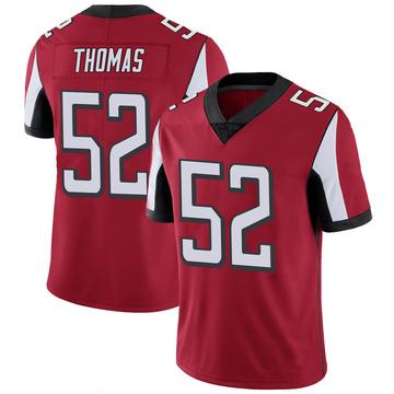 Youth Nike Atlanta Falcons Ahmad Thomas Red 100th Vapor Jersey - Limited