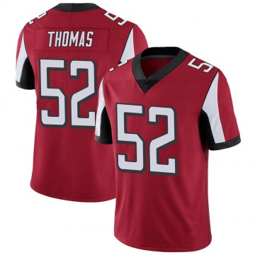 Youth Nike Atlanta Falcons Ahmad Thomas Red Team Color Vapor Untouchable Jersey - Limited