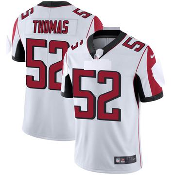 Youth Nike Atlanta Falcons Ahmad Thomas White Vapor Untouchable Jersey - Limited