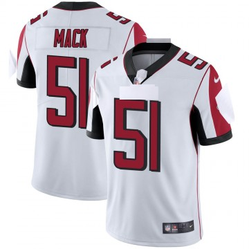 Youth Nike Atlanta Falcons Alex Mack White Vapor Untouchable Jersey - Limited