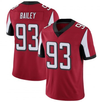 Youth Nike Atlanta Falcons Allen Bailey Red Team Color Vapor Untouchable Jersey - Limited