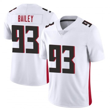 Youth Nike Atlanta Falcons Allen Bailey White Vapor Untouchable Jersey - Limited