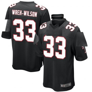 Youth Nike Atlanta Falcons Blidi Wreh-Wilson Black Alternate Jersey - Game