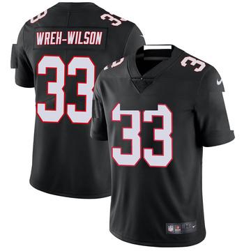 Youth Nike Atlanta Falcons Blidi Wreh-Wilson Black Vapor Untouchable Jersey - Limited