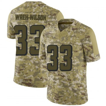 Youth Nike Atlanta Falcons Blidi Wreh-Wilson Camo 2018 Salute to Service Jersey - Limited